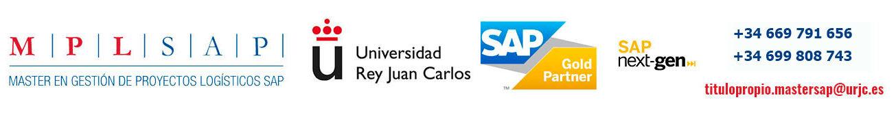 Máster SAP URJC en Gestión de Proyectos Logísticos